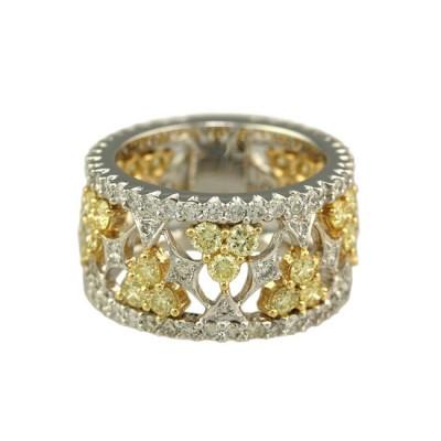 """""""Lamballe"""" Diamond Ring"""