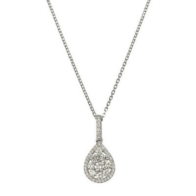 """""""Niobe"""" Diamond Pendant"""