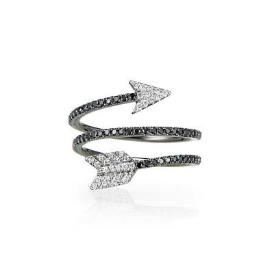 """Aramaya"" Diamond Arrow Ring"