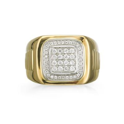 """Prospero"" Men's Diamond Ring"