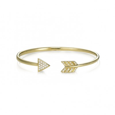 """Diana"" Diamond Bangle"