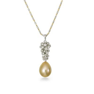 """""""Raffianza"""" Pearl Pendant"""