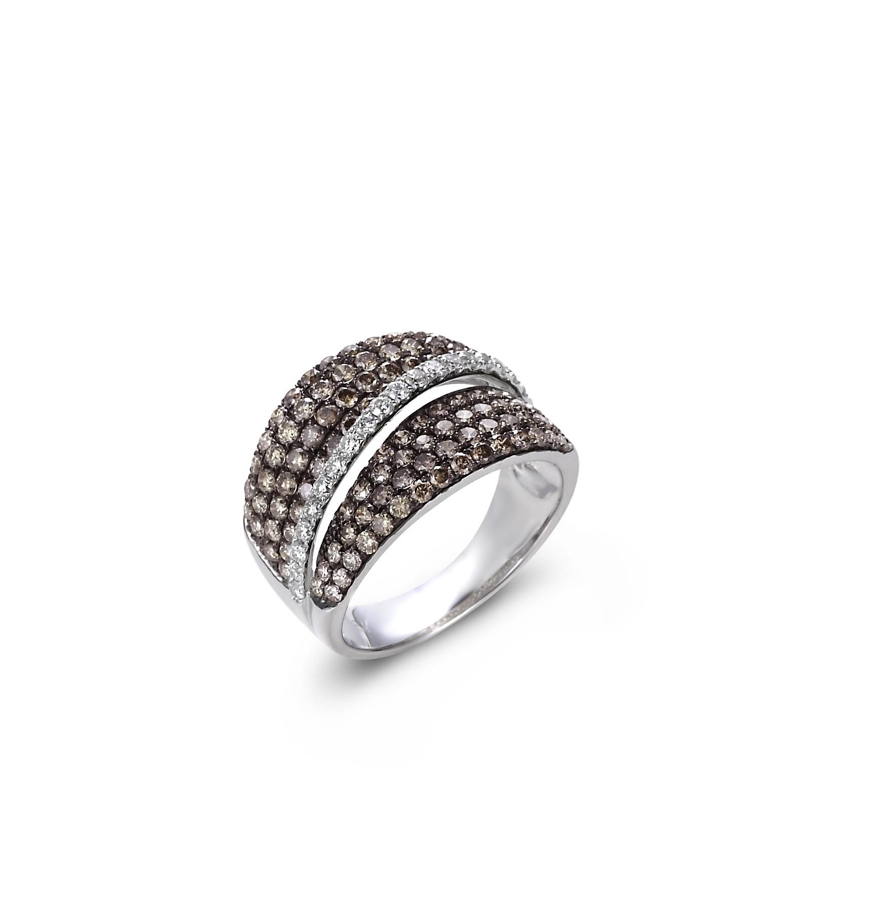 """Chocolate Craving"" Diamond Ring"