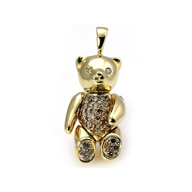"""Rumpelstiltskin"" Teddy Bear Pendant"