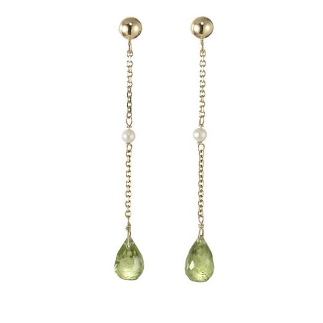 """""""Lola"""" Peridot Earrings"""