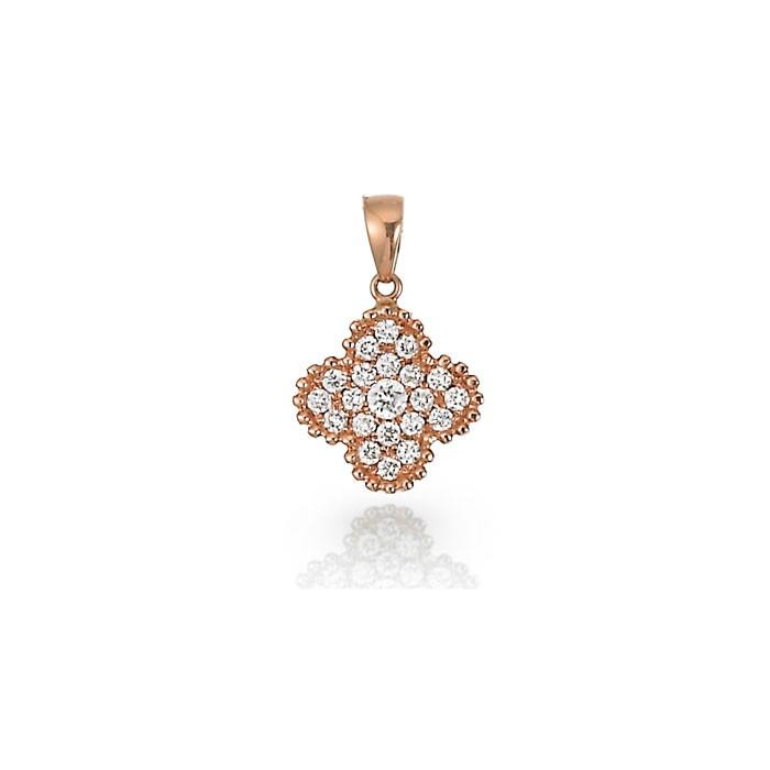 """Trevinata"" Diamond Pendant"