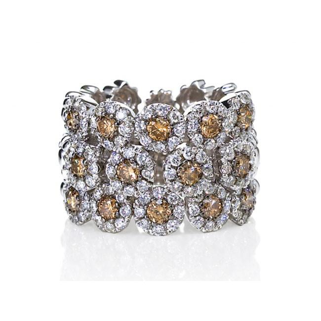 """Diamond Bloom"" Ring"