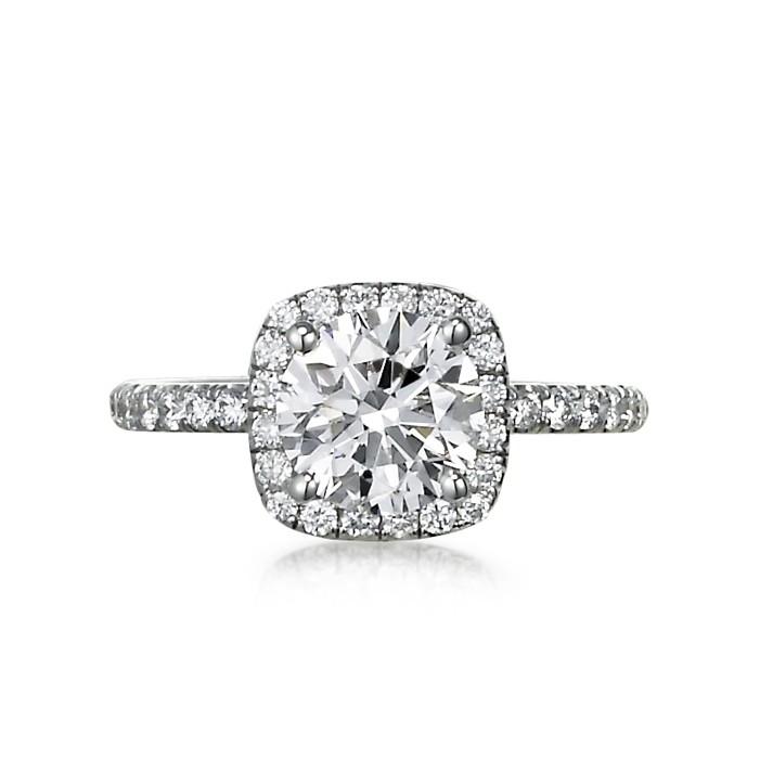 """La Dauphine"" Engagement Ring"