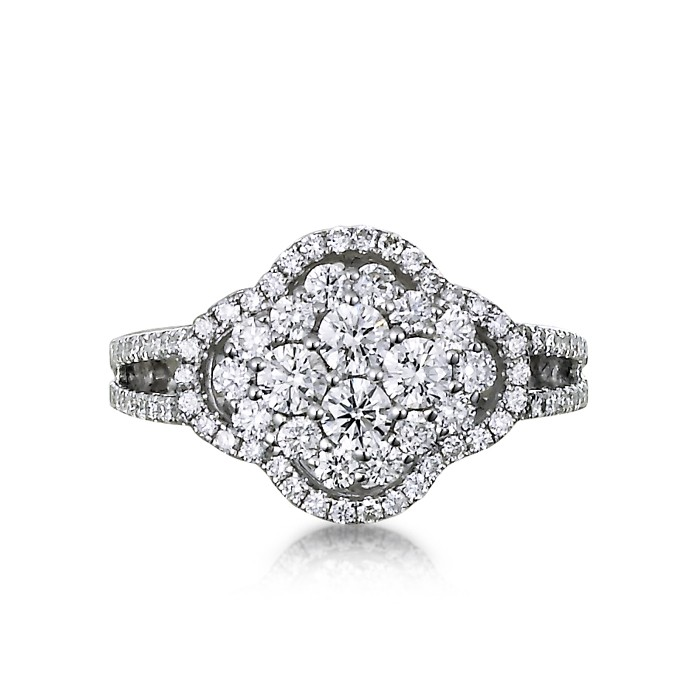 """Francesca"" Diamond Ring"