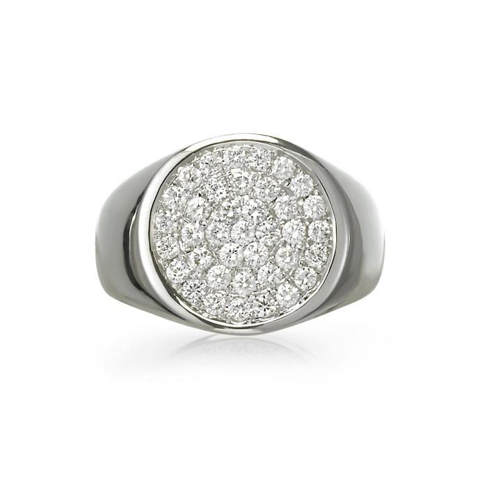 """""""Argus"""" Men's Diamond Ring"""