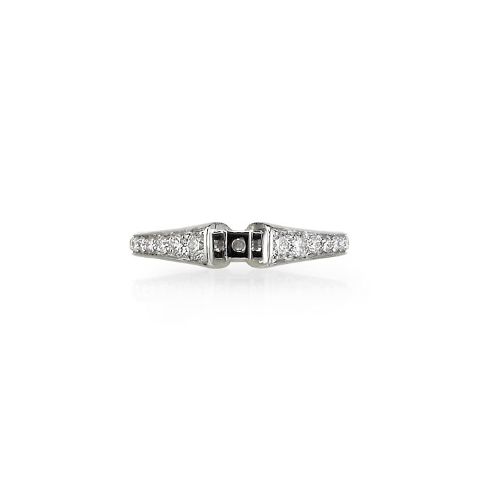 """Brio"" Diamond Wedding Set"