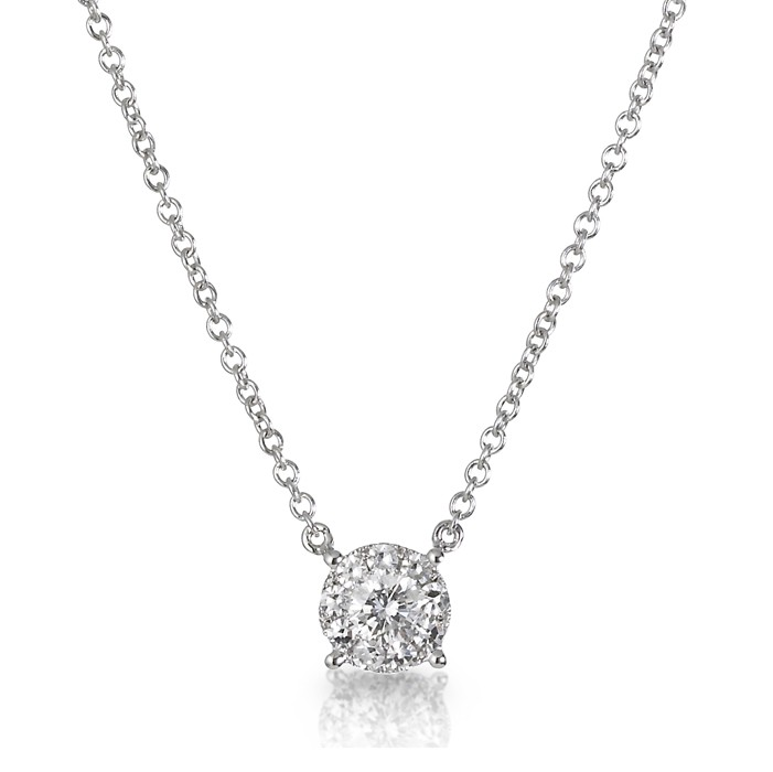 """Reflections"" Diamond Necklace"