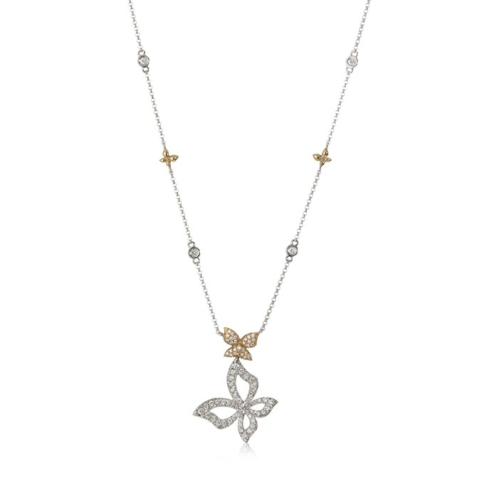 """Reverie"" Diamond Necklace"