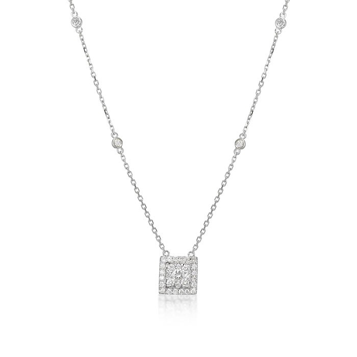 """Illuminations"" Diamond Necklace"