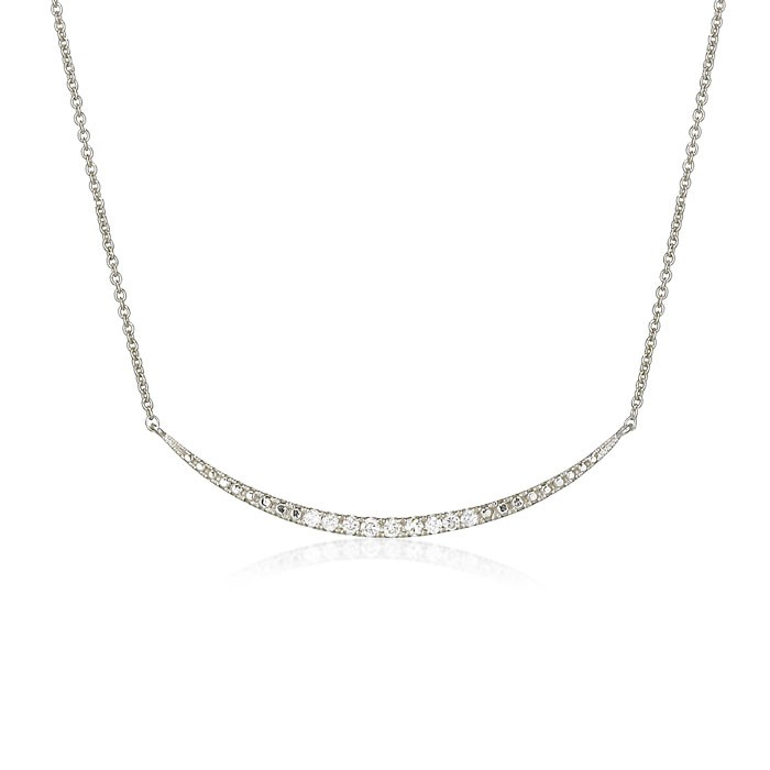"""Sabrina's Smile"" Diamond Necklace"