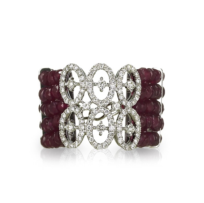 """Infinita"" Ruby & Diamond Ring"