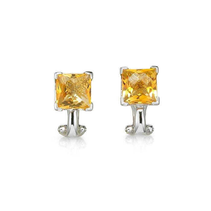 """""""Tangelira"""" Citrine Earrings"""