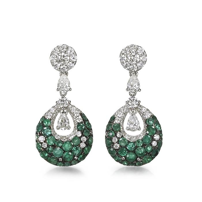 """Doroteia"" Emerald Earrings"