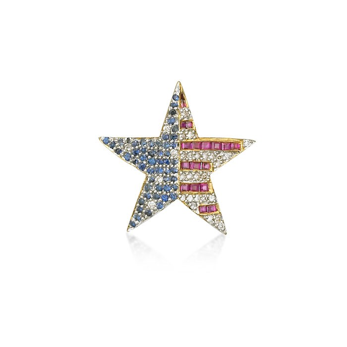 """Patriot Star"" Pin"