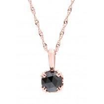 37th Anniversary Black Diamond Pendant