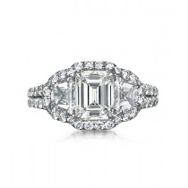 """Magnificence"" Diamond Engagement Ring"