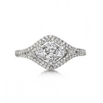 """Cantante"" Diamond Cluster Ring"