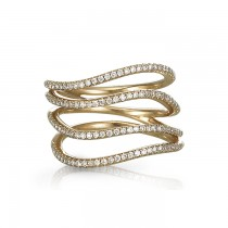 """""""Elipsis"""" Right Hand Ring"""
