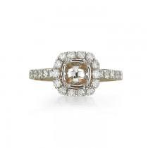 """Sabrelle Collection"" Diamond Semi-Mount"