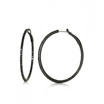 """Antonia"" Diamond Hoops"