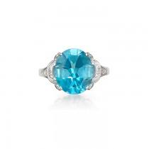 """""""Emma Blue"""" Topaz Ring"""
