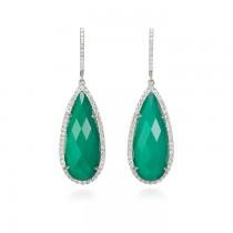 """""""Belarra"""" Agate & Diamond Pendant"""