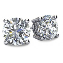 Diamond Stud Earrings (EFG/SI1-2)